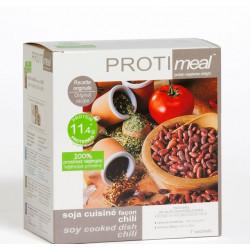 Soja cuisiné façon Chili riche en protéine végétale