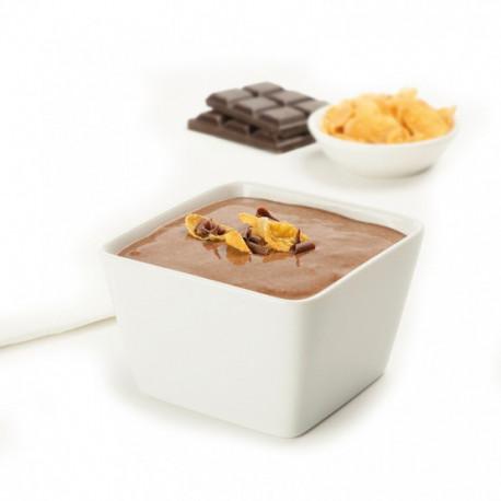 Crème céréales chocolat petit déjeuner protéiné