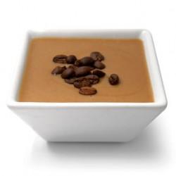 Flan café riche en protéines minceur