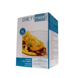Omelette hyperprotéinée aux cèpes