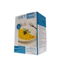 Omelette hyperprotéinée aux herbes de provence