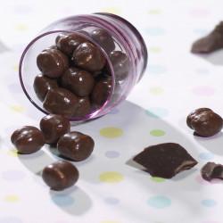 Boule de soja enrobage chocolat riche en protéines de lait