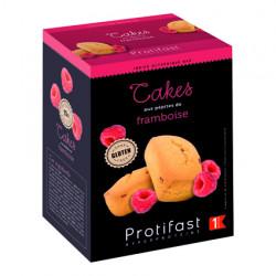 Cake aux pépites de framboise Protifast