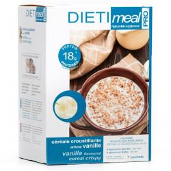 Céréales croustillante vanille riche en protéines