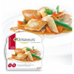 Nutrisaveurs Wok de poulet sauce aigre douce