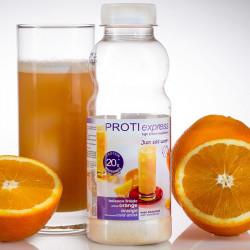 PROTI express boisson orange riche en protéines