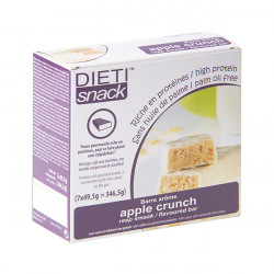 Barre pomme Apple crunch Dietisnack