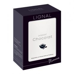 Dessert entremets chocolat riche en protéines