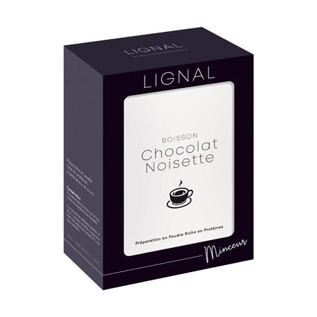 Boisson chocolat noisette riche en protéines