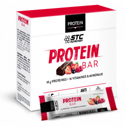 Protein Bar fruits rouges STC nutrition