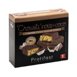 Protifast barre protéinée crousti'coco chocolat