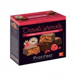 Protifast barre protéinée crousti'grenade & framboise