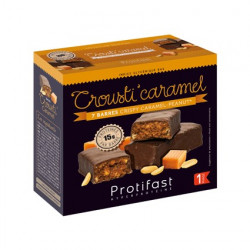 Protifast barres protéinées crousti'caramel