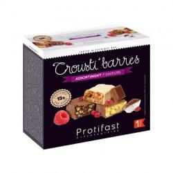 Assortiment barres riches en protéines