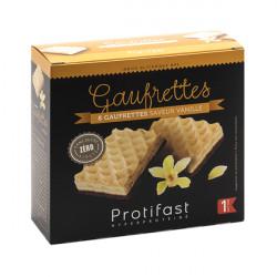 Gaufrette vanille riche en protéines