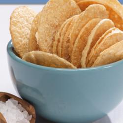 Chips sel et vinaigre à l'isolat de protéine