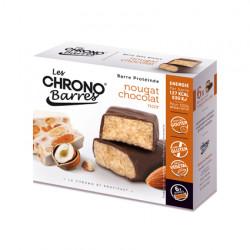 Chrono-barre nougat et chocolat noir