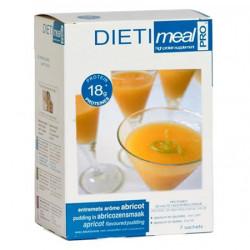 Dessert abricot riche en protéines