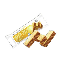 Gaufrette vanille-chocolat