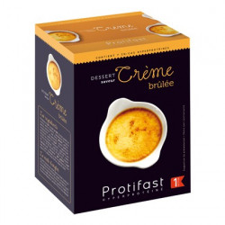 Crème brûlée dessert Protifast
