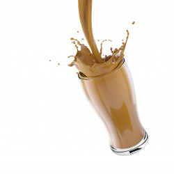 Substitut de repas Milk-shake café latte