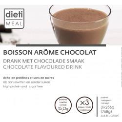 Pack 3 boissons chocolat UHT hyperprotéinées