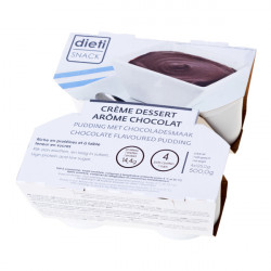 Crème dessert chocolat riche en protéines