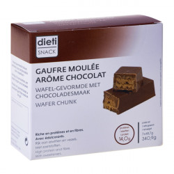 Barre gaufre moulée chocobreak