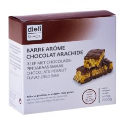 Barre chocolat peanut riche en protéines