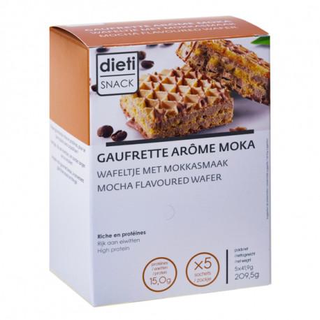 Gaufrette arôme café moka
