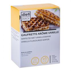 Gaufre minceur protéinée arôme vanille