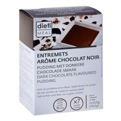 Dessert chocolat noir