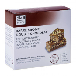 Chrono-pack barre double chocolat