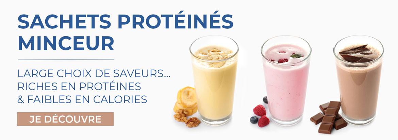 Découvrez notre gamme de sachets protéinés à préparer